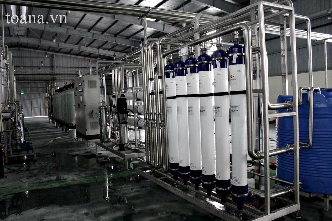 công nghệ sản xuất nước khoáng thiên nhiên