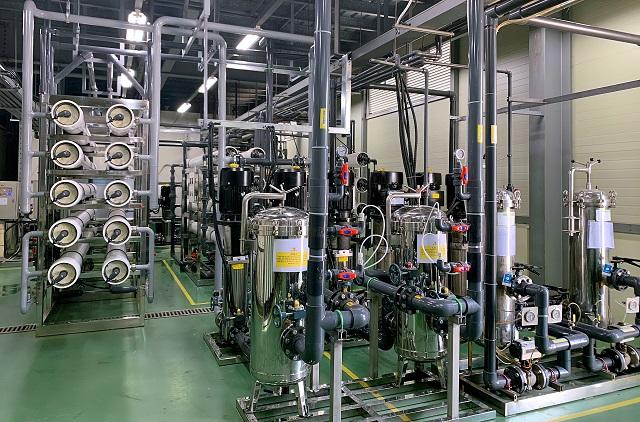 Dây chuyền lọc nước RO ứng dụng trong xử lý nước nhiễm mặn