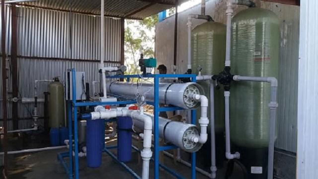 Dây chuyền lọc xử lý nước RO được ứng dụng trong ngành sản xuất các chất bán dẫn