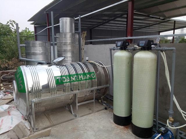 hệ thống lọc nước giếng khoan