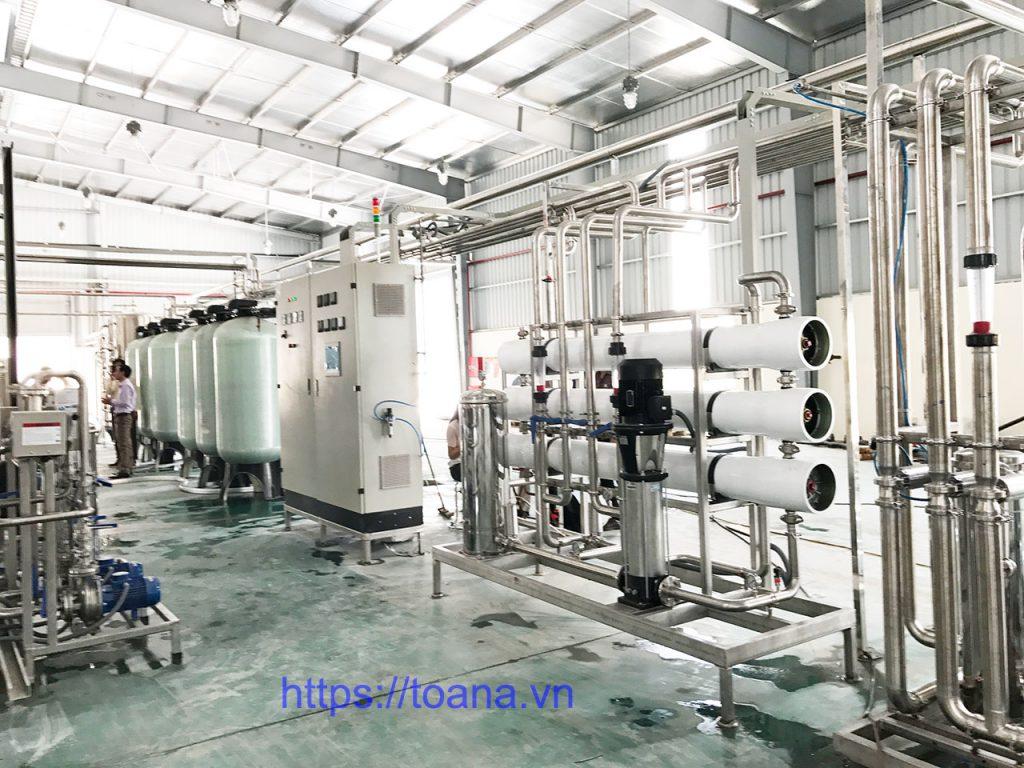 Công nghệ lọc nước RO có công suất lớn, hoạt động ổn định, độ bền tốt