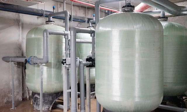 Hệ thống dây chuyền lọc nước RO được ứng dụng trong sản xuất nước tinh khiết