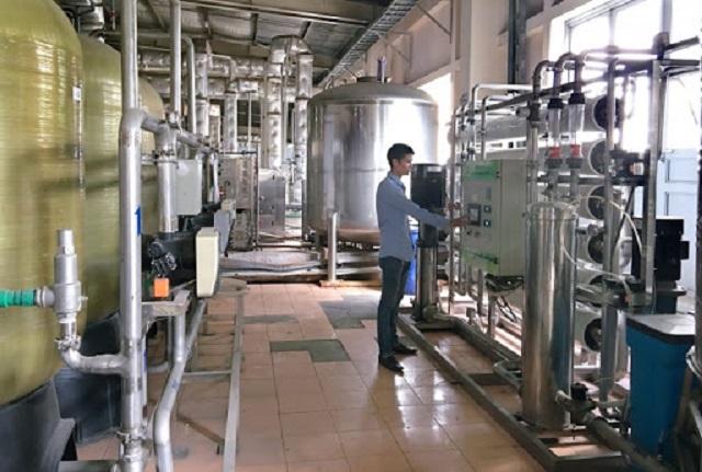 Hệ thống lọc nước RO ứng dụng trong sản xuất nước phục vụ y tế - sản xuất dược phẩm