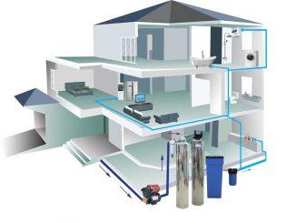 Lọc nước máy đầu nguồn