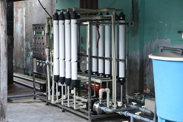 hệ thống xử lý lọc nước UF công nghiệp