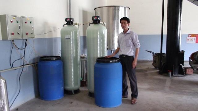 Quá trình vận hành của bộ phận làm mềm nước lò hơi diễn ra như thế nào?