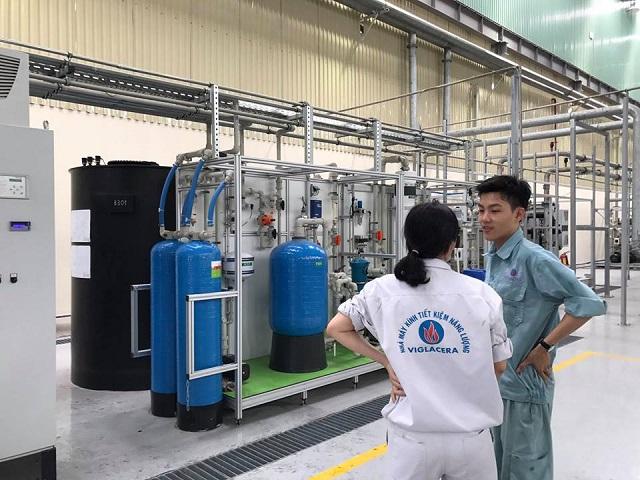 cơ chế trao đổi ion làm mềm nước