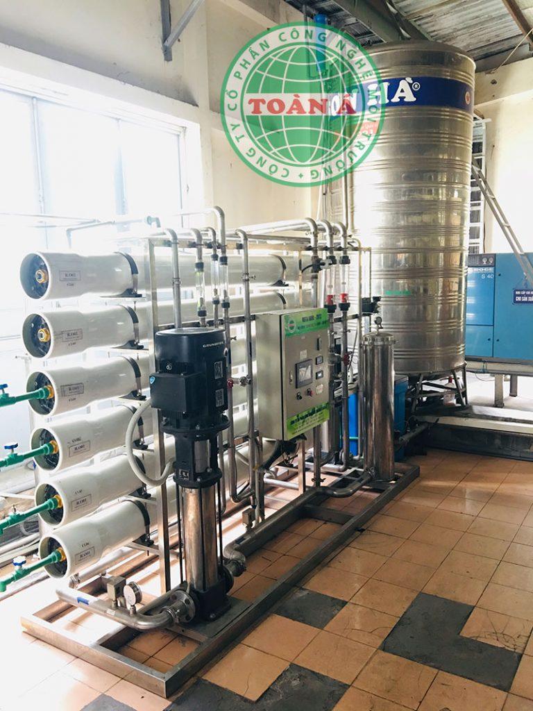 Hệ thống có thể tiếp nhận nguồn nước đa dạng