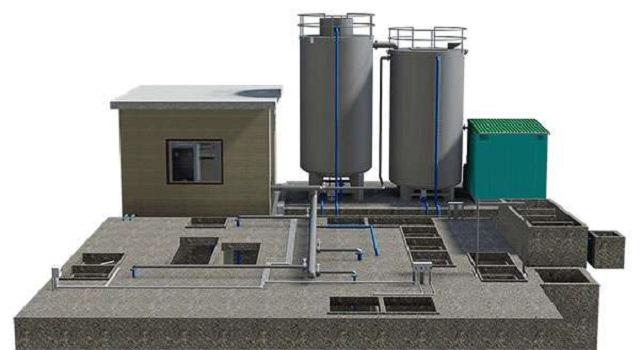 hệ thống xử lý nguồn nước thải